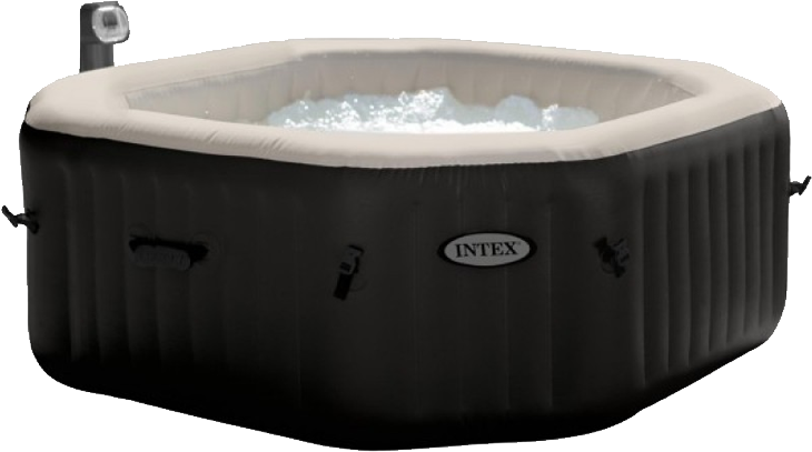 PureSpa Jet & Bubble Deluxe Octogon Spa